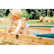 Plum® Store-It Wooden Sand Pit - Baby Wooden Sand Pit