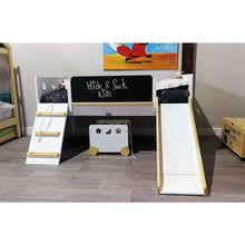 The Galaxy Kids Bed - Bed with climbing wall and slide