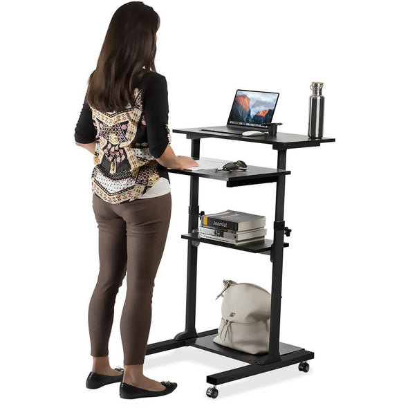 Mount It Mobile Stand Up Desk Mi 7940b Fit To Five