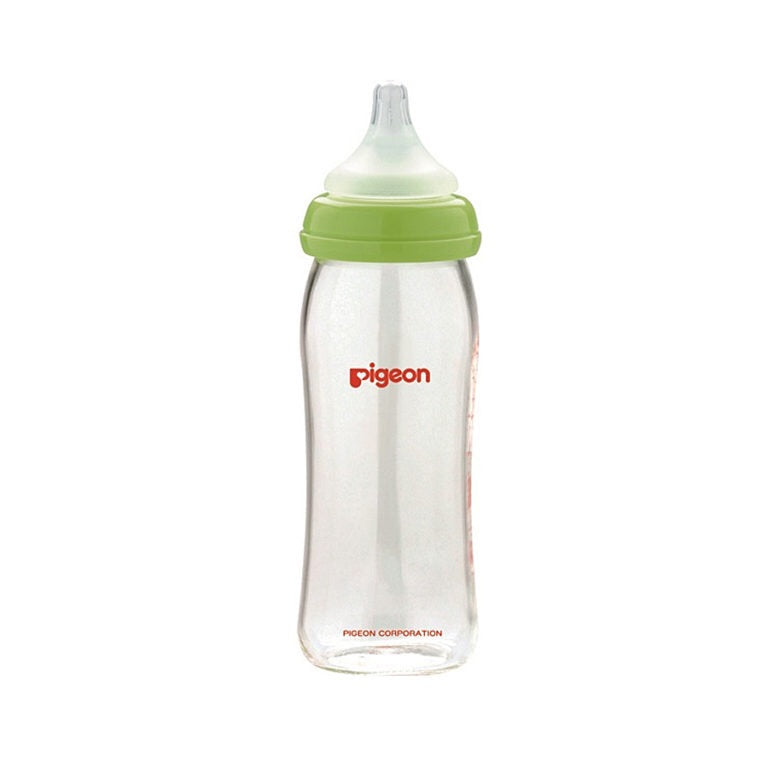 SofTouch Peristaltic Plus Wide Neck Nursing Bottle Glass 240ml (M)