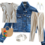Saturday Style:  The Jean Jacket