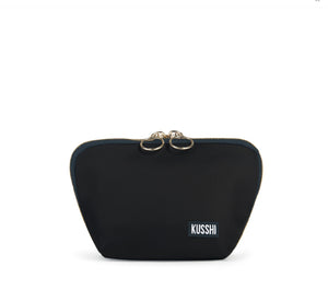 Kusshi - Black & Red Everyday Makeup Bag