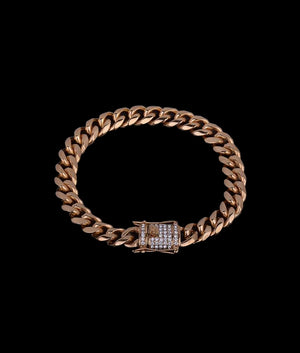 (10MM) GOLD CUBAN BRACELET