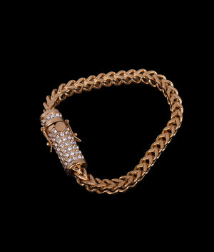 (6MM) GOLD FRANCO CUBAN BRACELET