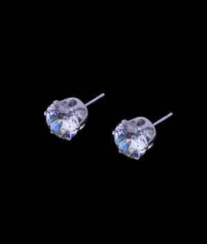 (8MM) STUD EARRINGS