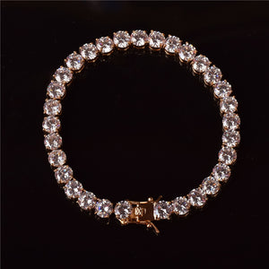(4MM) GOLD TENNIS BRACELET