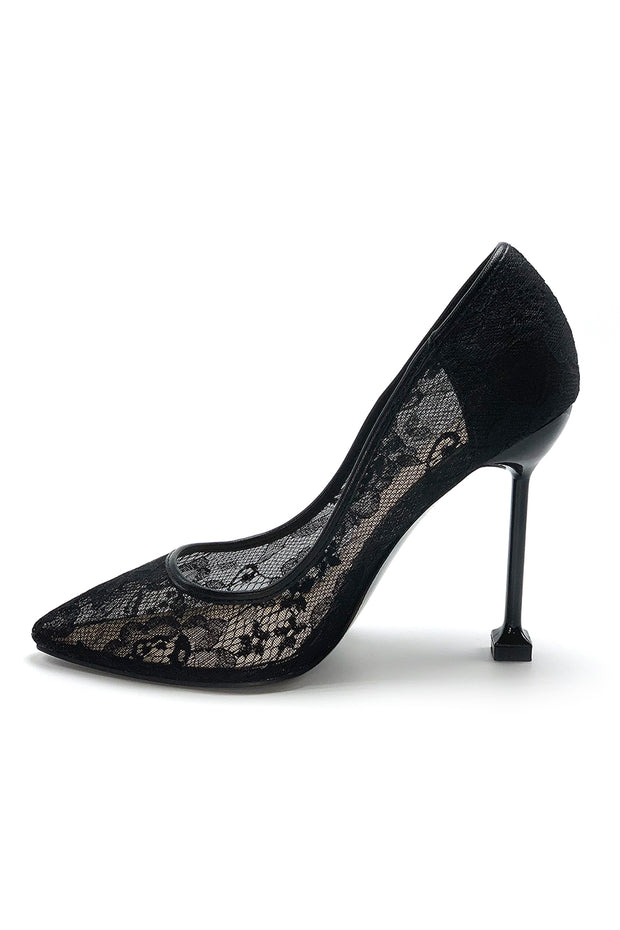 ISIDORA | Lace Stiletto Pumps