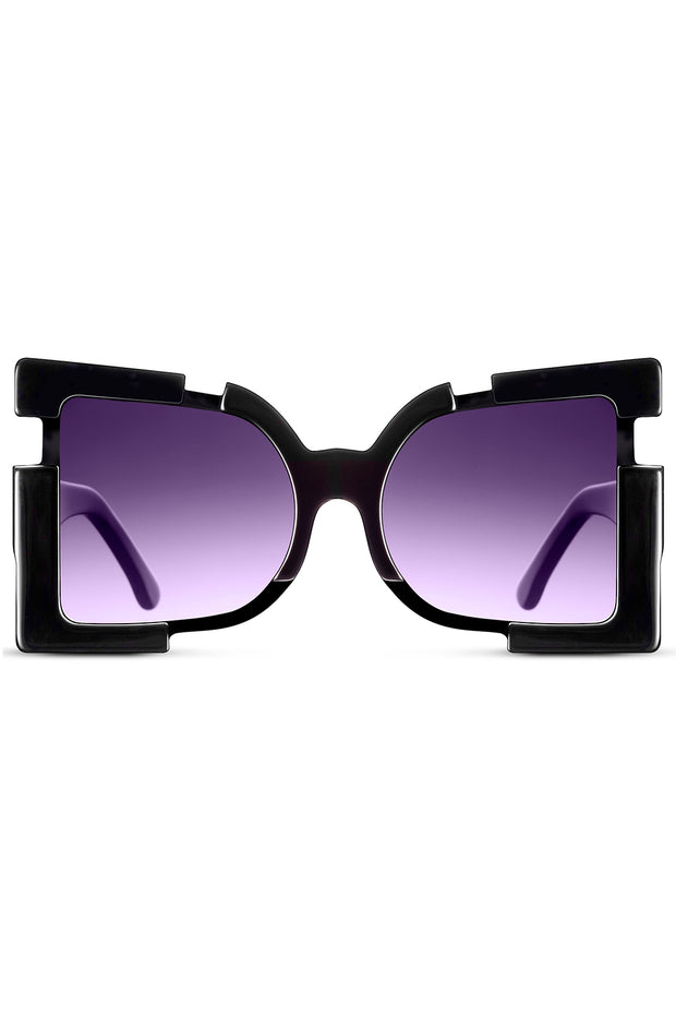MADAMME BUTTERFLY | Oversize Square Sunglasses