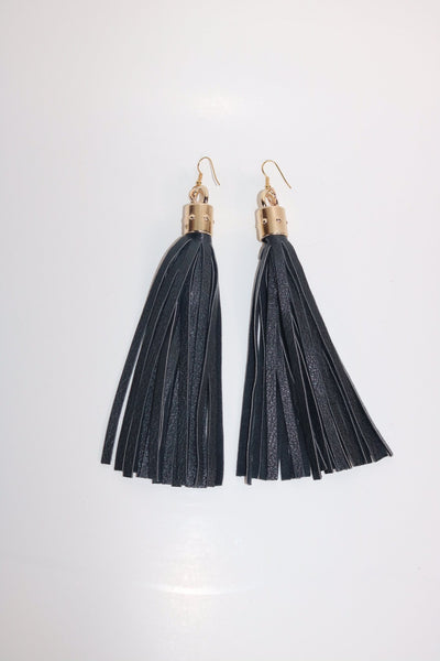 Cow Girl Tassel Earrings