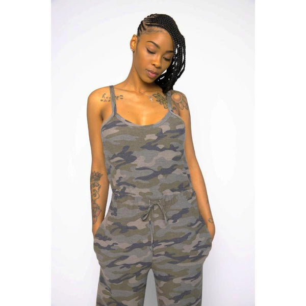 General Jane Camo Jumpsuit
