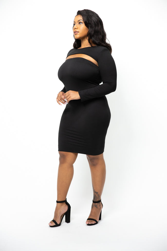 Madden Black Dress