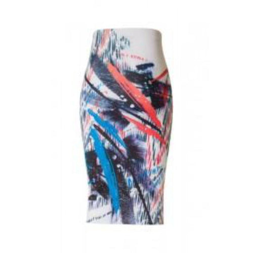 Graffiti Pencil Skirt