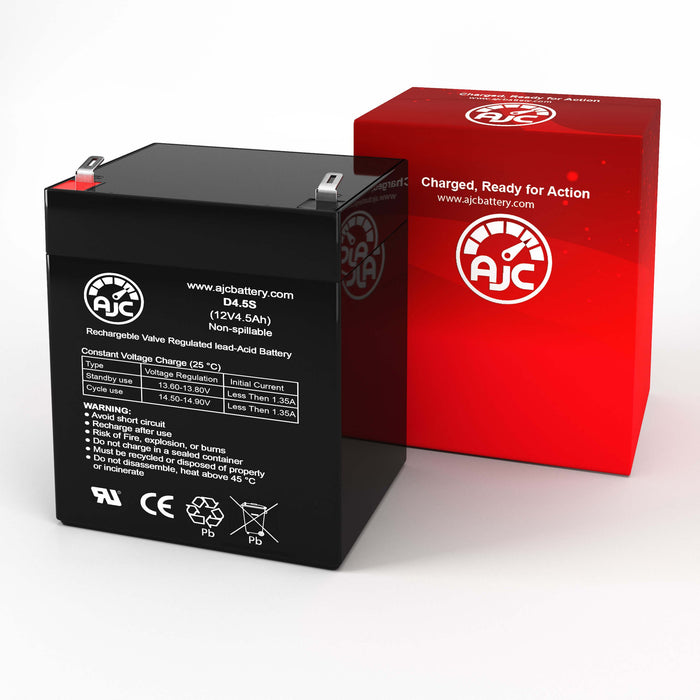 Ademco VIA 30PSE 12V 4.5Ah Alarm Replacement Battery