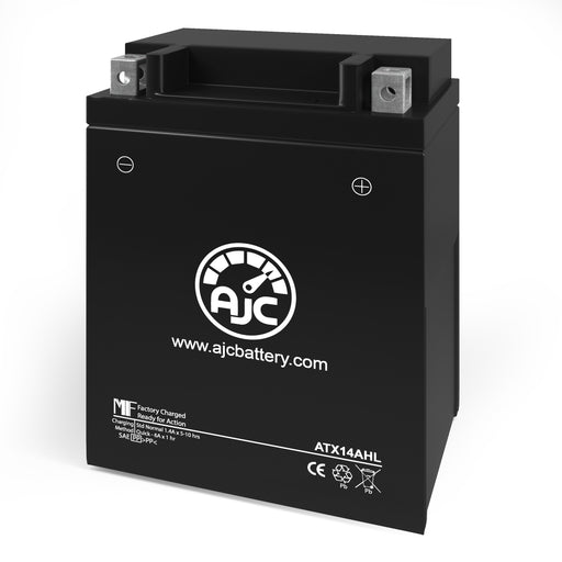 AJC® ATX14AHL Powersports Replacement Battery