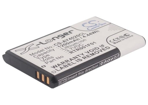 RTX 8630 8830 Replacement Battery CS-AY4020CL.11 Cordless Phone BatteryClerk.co.uk