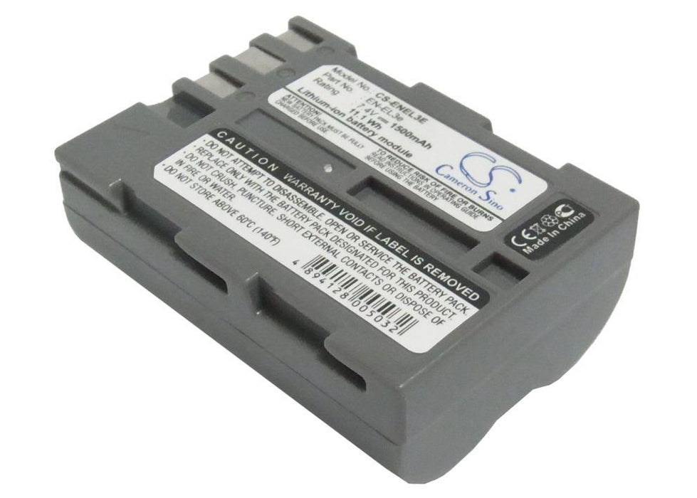 Nikon D100 D200 D300 D300S D50 D70 D700 D70s D80 D Replacement Battery
