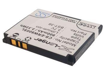Sony Ericsson Equinox J110a J110c J110i J120c J120 Replacement Battery