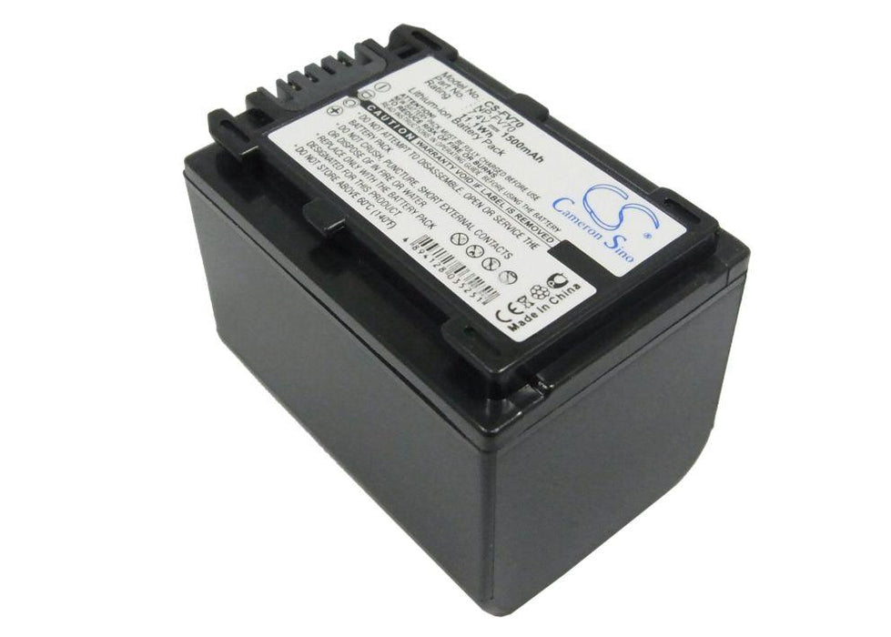 Sony   DCR-DVD308E   DCR-DVD650E   DCR-HC48E   DCR Replacement Battery