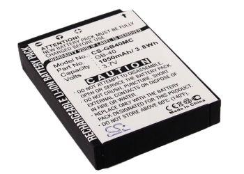 GE E1030 E1040 E1050TW E1240 E1250TW E850 H855 Replacement Battery