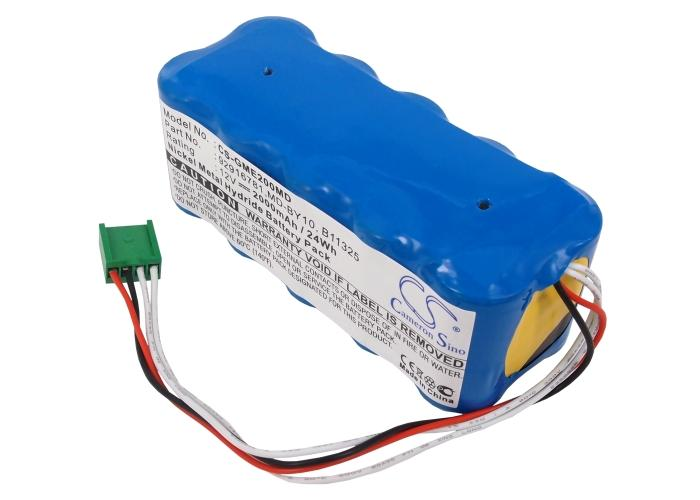 GE DASH 2000 DASH2000 Marquette Medical Systems DA Replacement Battery-2