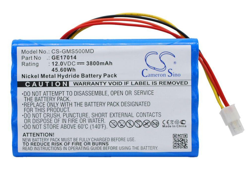 GE Datex-Ohmeda S/5 Datex-Ohmeda S/5 PATIENT MONIT Replacement Battery