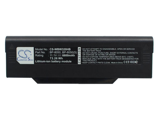 Medion MAM2080 MD41424 MD42200 MD42462 MD4 6600mAh Replacement Battery