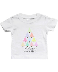 Favorite Color White Baby Shirt  Cute Infant T-Shirt