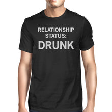 Relationship Status Men's Black Casual Graphic T-Shirt Funny Saying