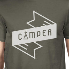 Camper Men's Dark Grey Cool Summer T Shirt Cute Gift Idea For Him