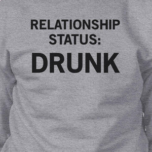 Relationship Status Grey Sweatshirt Funny Graphic Design Gift Ideas