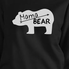 Mama Bear Black Unisex Cute Graphic Sweatshirt Gifts For New Moms