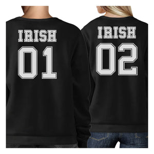 Irish 01 Irish 02 Cute Couple Matching Sweatshirt For Irish Couples