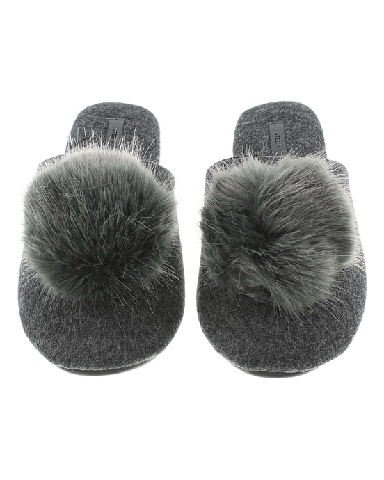 Slippers | Charcoal