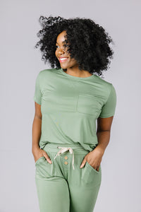 JAM PANTS SET Hedge Green