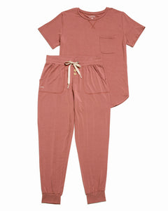 JAM PANTS SET Old Rose