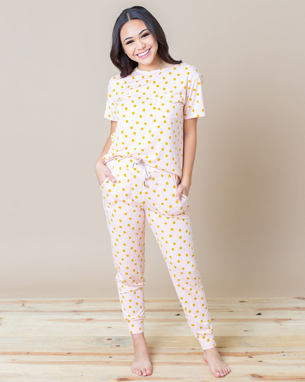 JAM PANTS SET Polka Dots