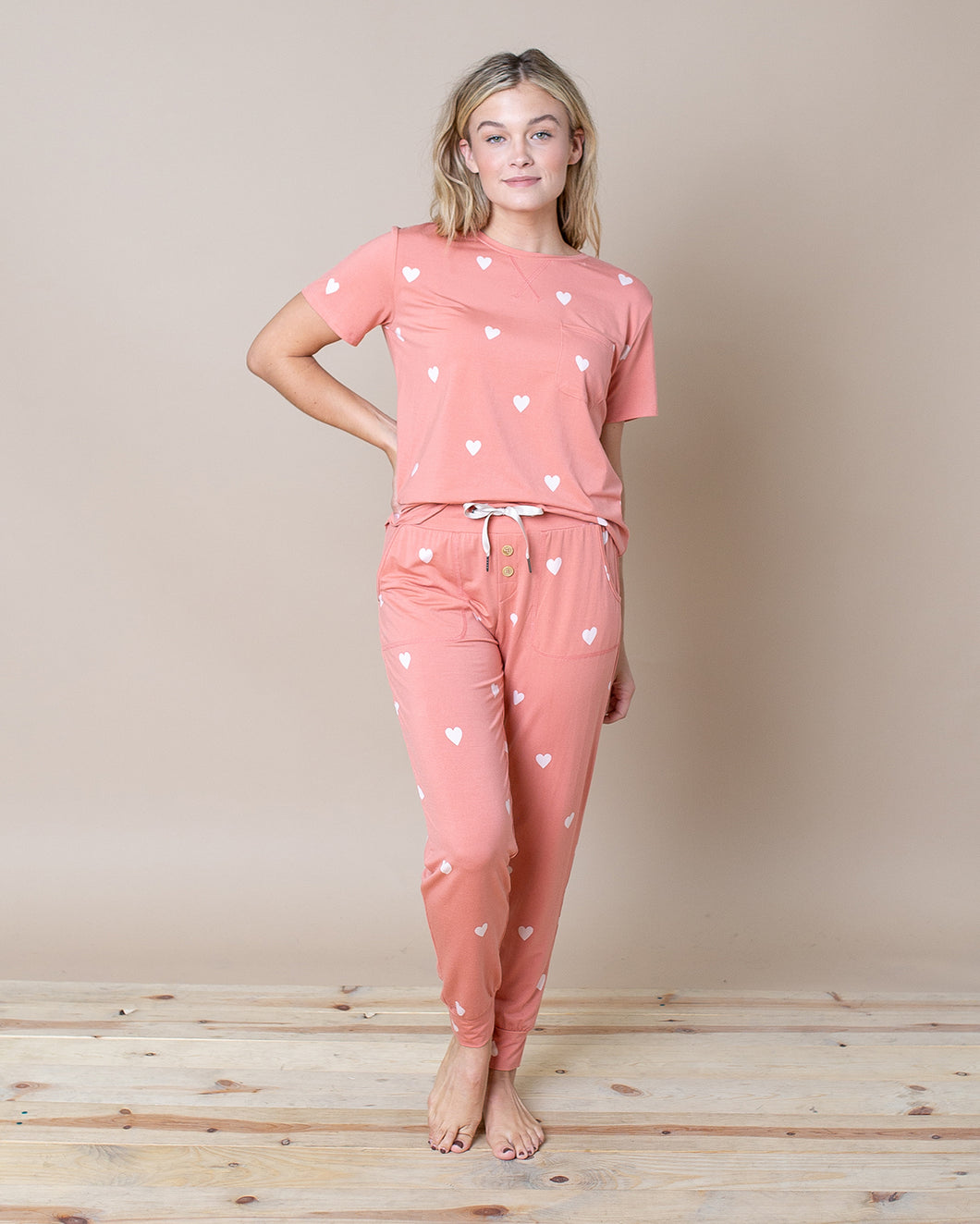 JAM PANTS SET Hearts