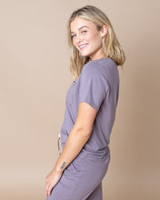 JAM SHORTS SET Dusty Purple