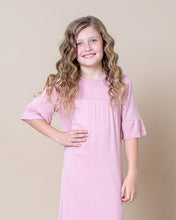 LITTLE LATES DRESS Blush