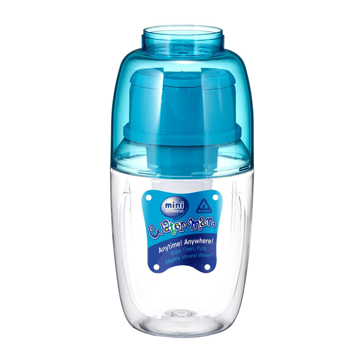 Mini BMP Waterman 600ml Blue - Waters Co Australia