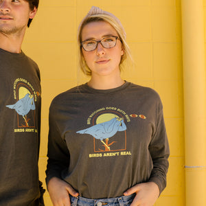 Birdwatching Shirt Long Sleeve (Dark)