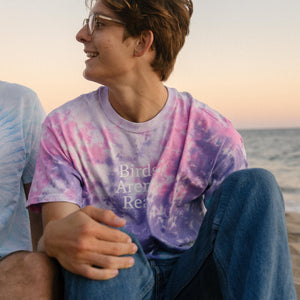 Tie Dye Shirt (Purple)