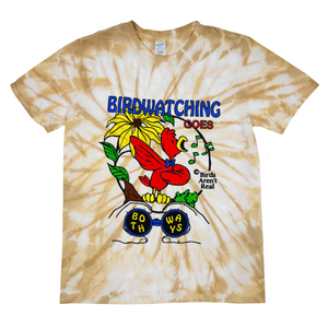 Birdwatching Tie Dye Shirt
