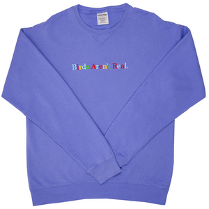 Rainbow Embroidered Crewneck
