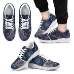 Constellation Galaxy Space Print Men's Athletic Shoes