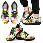 Aloha Hibiscus Tropical Pattern Print Men's Athletic Shoes