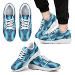 Mandala Waves Bohemian Pattern Print Men's Athletic Shoes