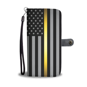 Thin Gold Line Wallet Phone Case