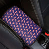 4th of July American Flag Pattern Print Car Center Console Cover