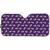 4th of July American Flag Pattern Print Car Sun Shade